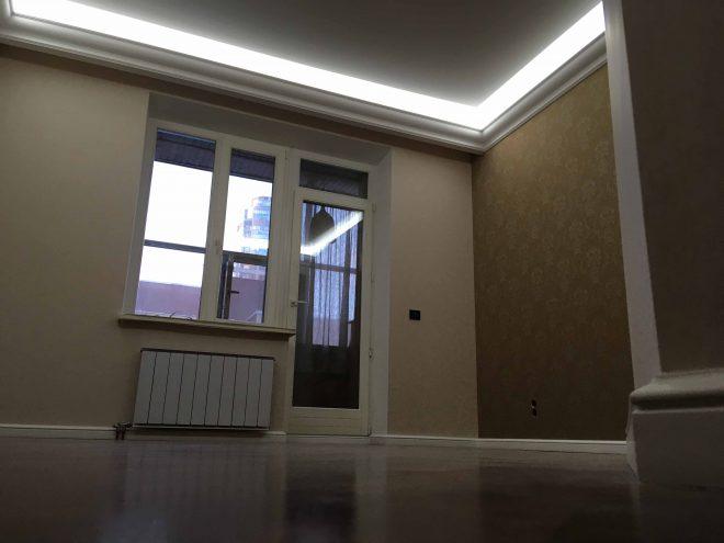 Капитальный ремонт спальни г. Екатеринбург, ул. Белинского, 32