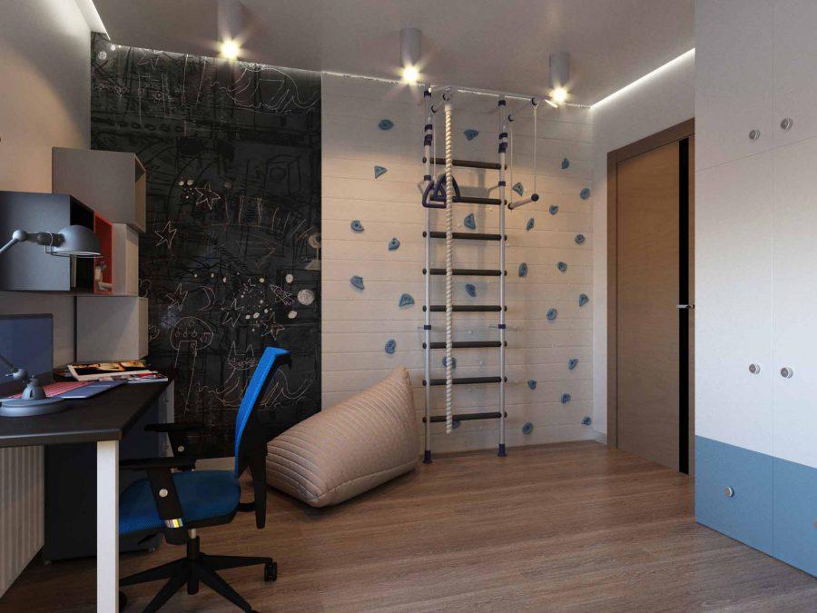 Дизайн проект квартиры Высоцкого, 18