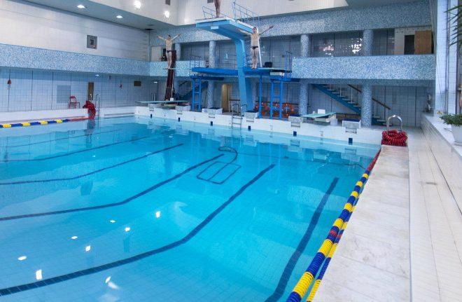 Капитальный ремонт помещений бассейна Дворца Молодежи