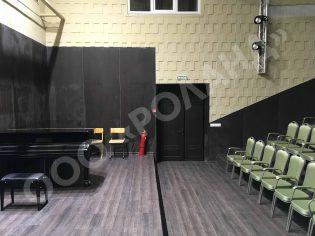 Ремонт концертного зала
