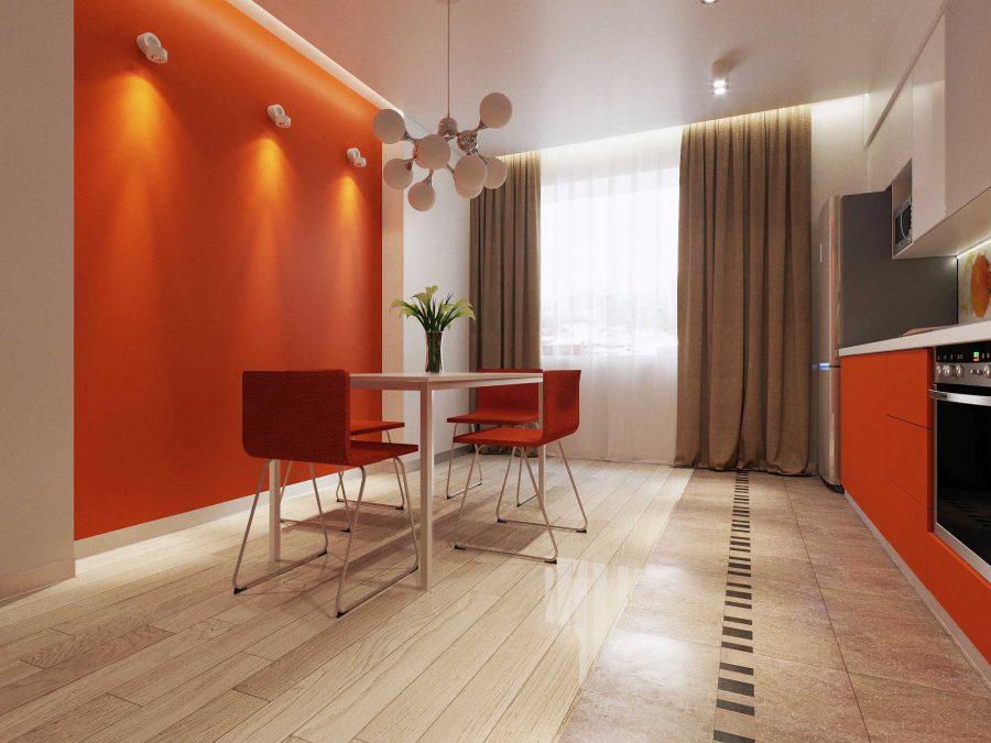 Дизайн проект квартиры Машинная