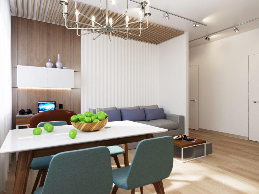 Дизайн проект квартиры Колмогорова