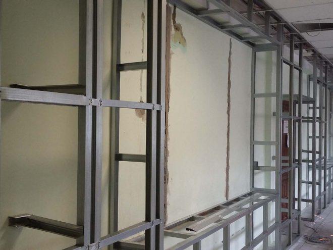 Капитальный ремонт музея школы Июльская, 25