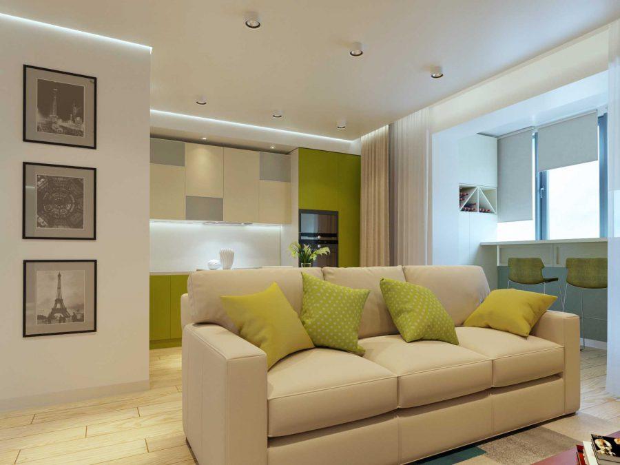 Дизайн проект квартиры Репина