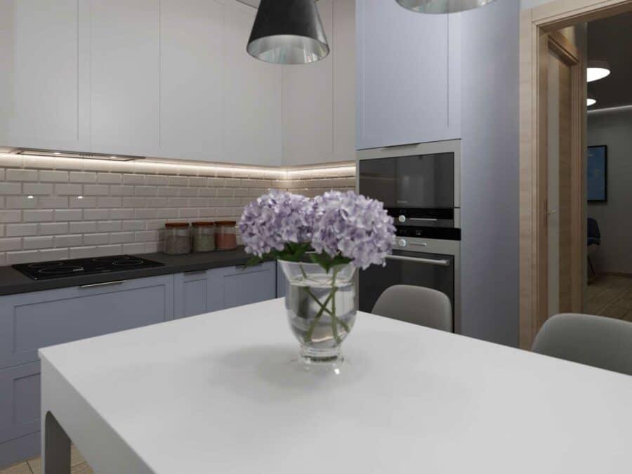 Дизайн проект квартиры - кухня