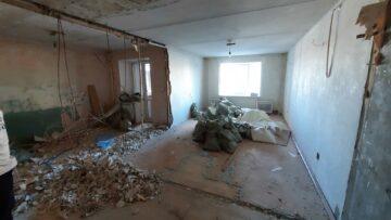 Капитальный ремонт квартиры - кухня-гостиная