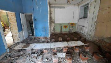Капитальный ремонт офиса - фойе