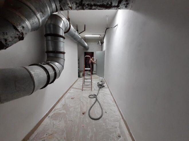 Ремонт вентиляционных камер завода