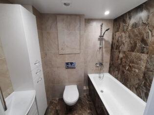 Капитальный ремонт квартиры ванная