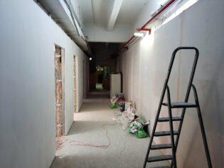 Капитальный ремонт коридора