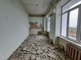 Капитальный ремонт офиса демонтажный этап